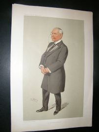 Vanity Fair Print: 1905 Antony Macdonnell, Spy Cartoon